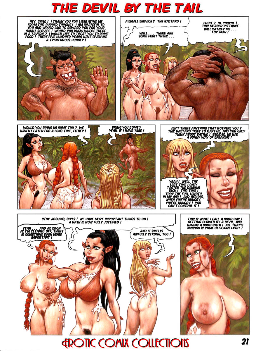 Devil by The Tail - Flobedo & Erotic Comix