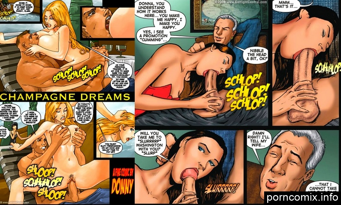 CATFIGHTCENTRAL – Champagne Dreams