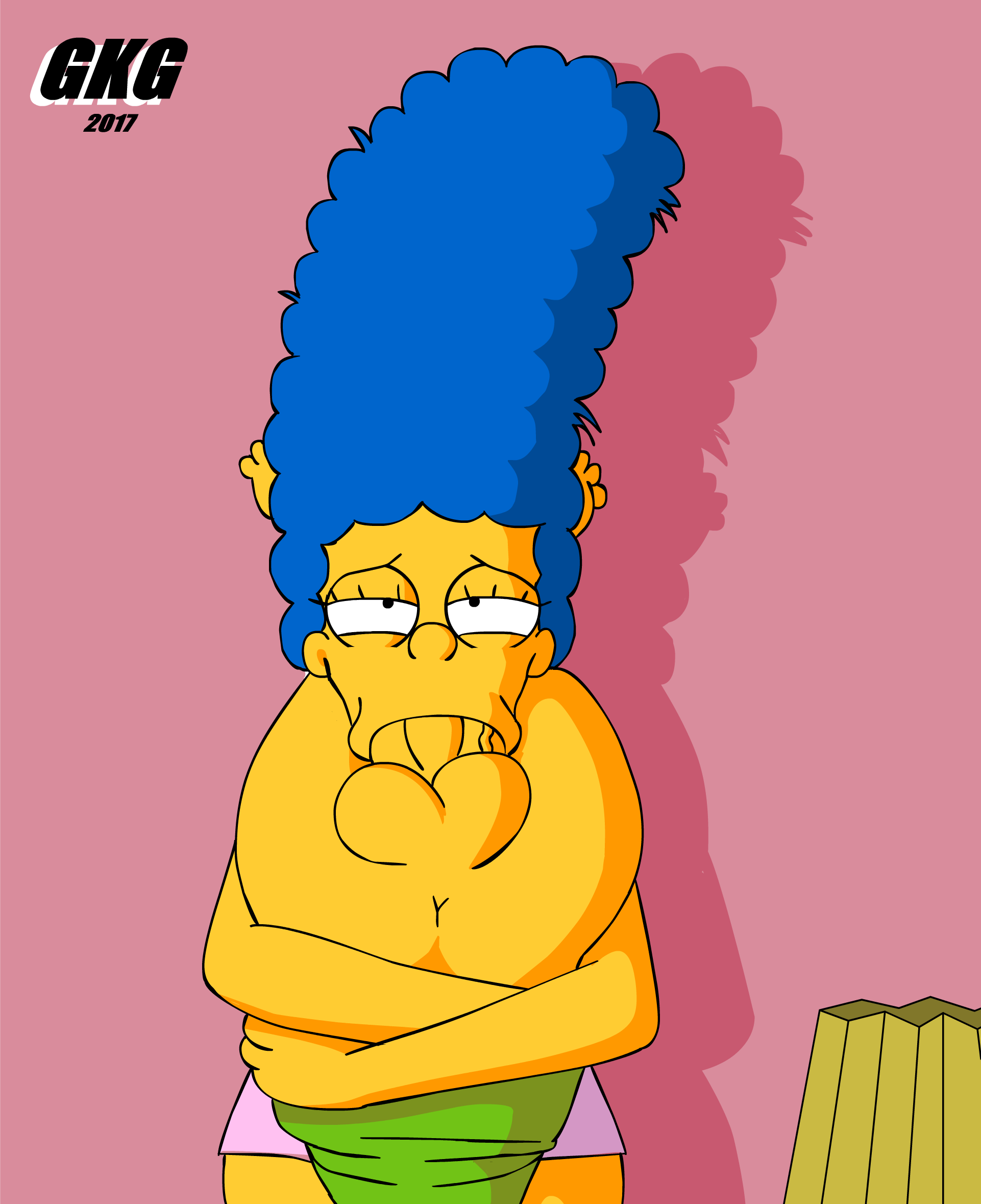 GKG – Marge & Bart (The Simpsons)