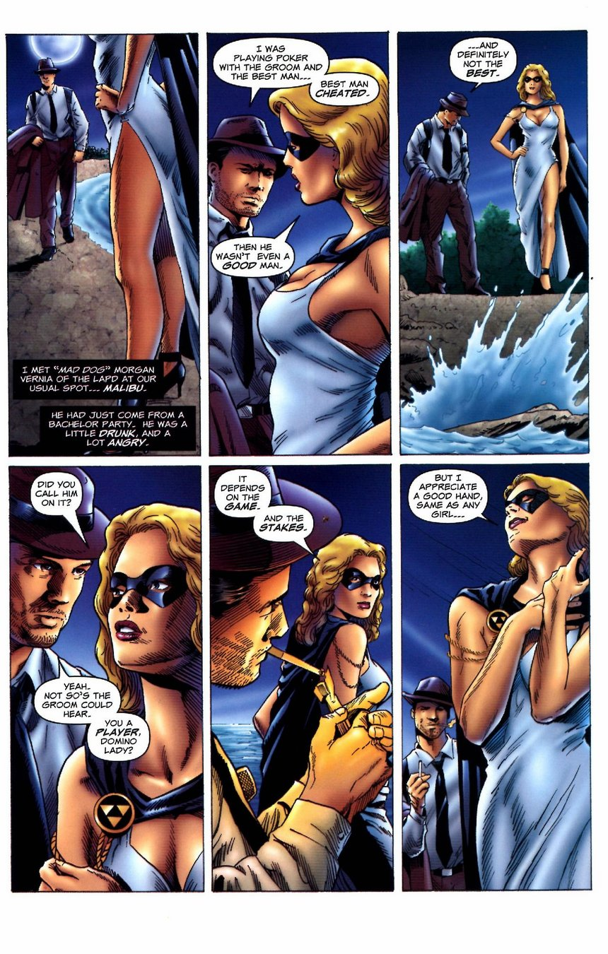 Domino Lady Issue 4