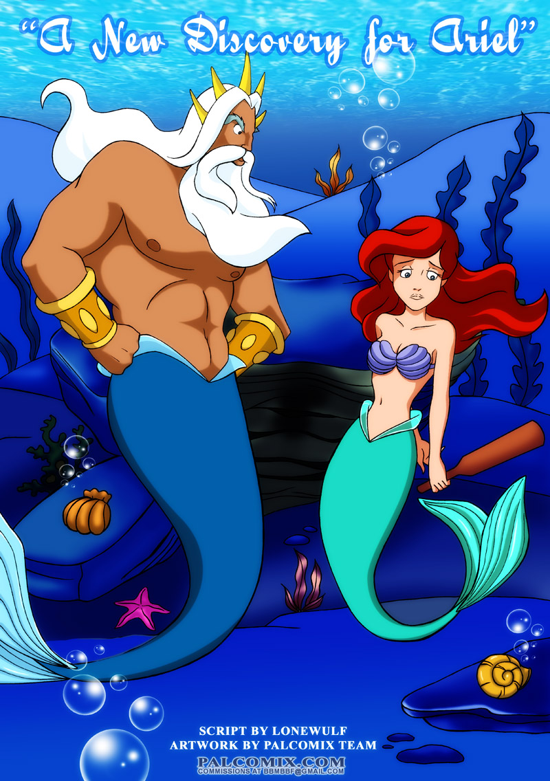 A New Discovery for Ariel- Pal Comix