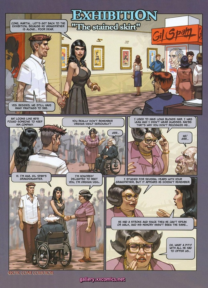 Erotic Comics Collections-Exhibition