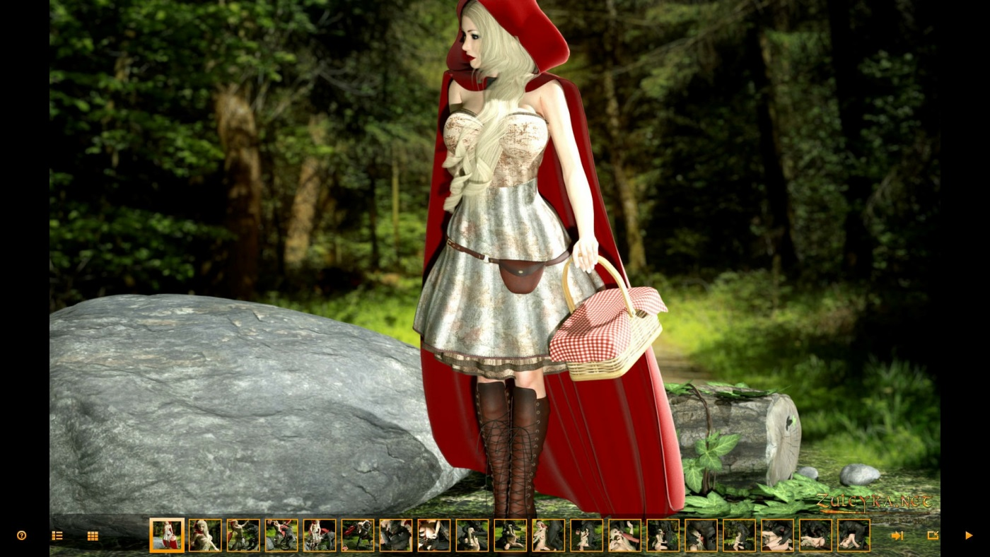 Zuleyka- Red Riding Hood