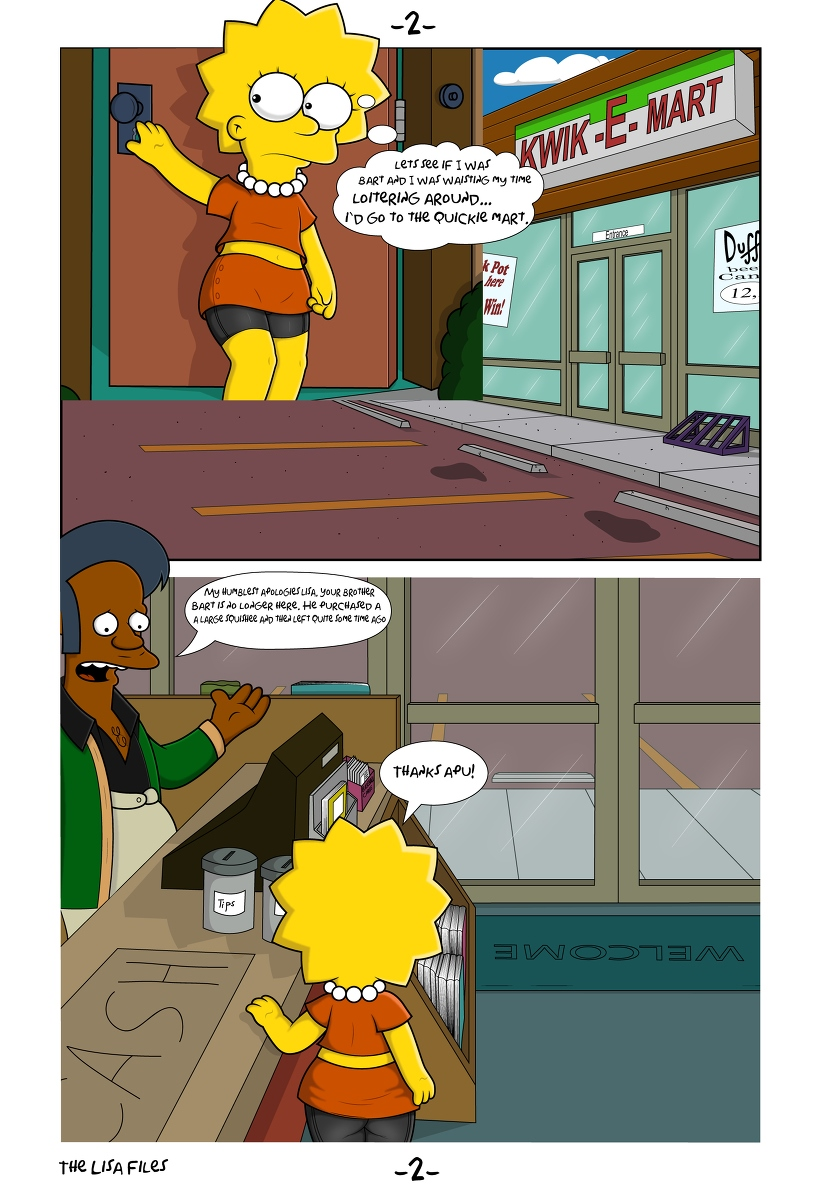 L.I.S.A Files- Hessisch - Simpsons