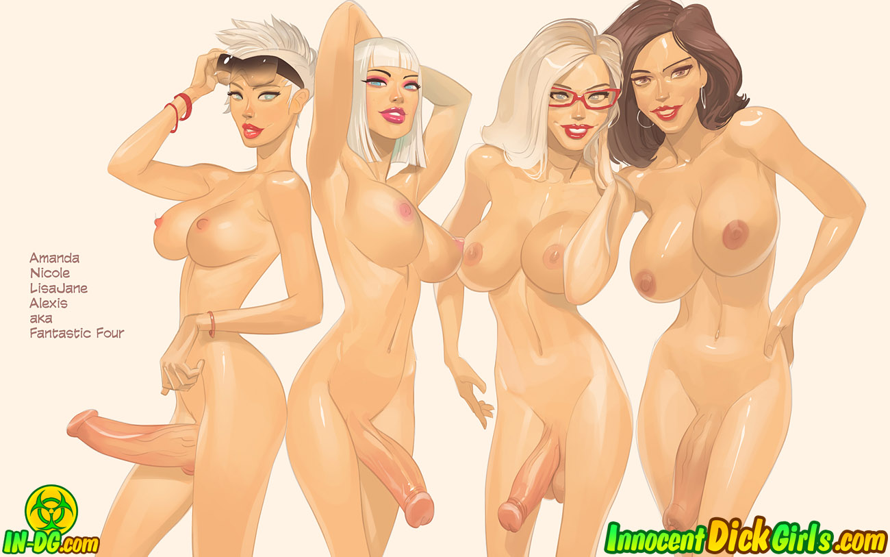 InDG Pinups Collection- Innocent Dickgirls