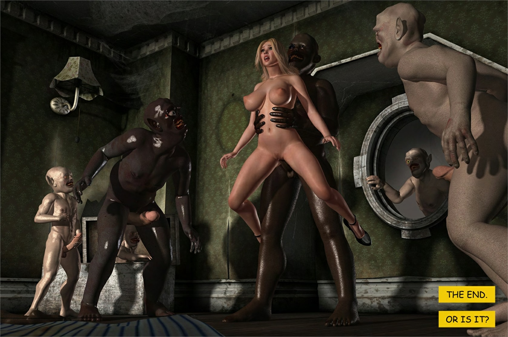 Holly's Freaky Encounters – The Attic of Lust