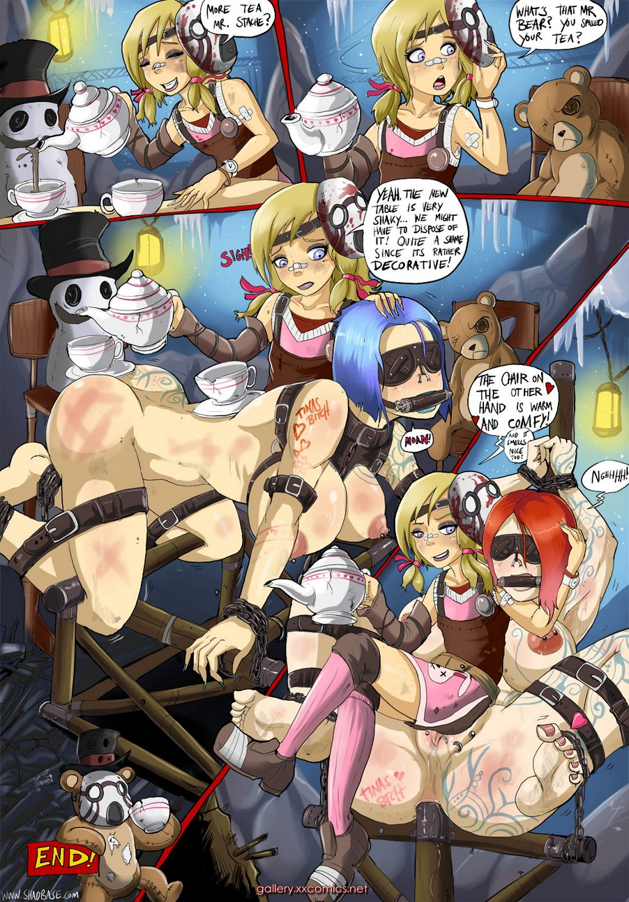 Shadbase- Bonerlands,Tiny Tina's Tea Party