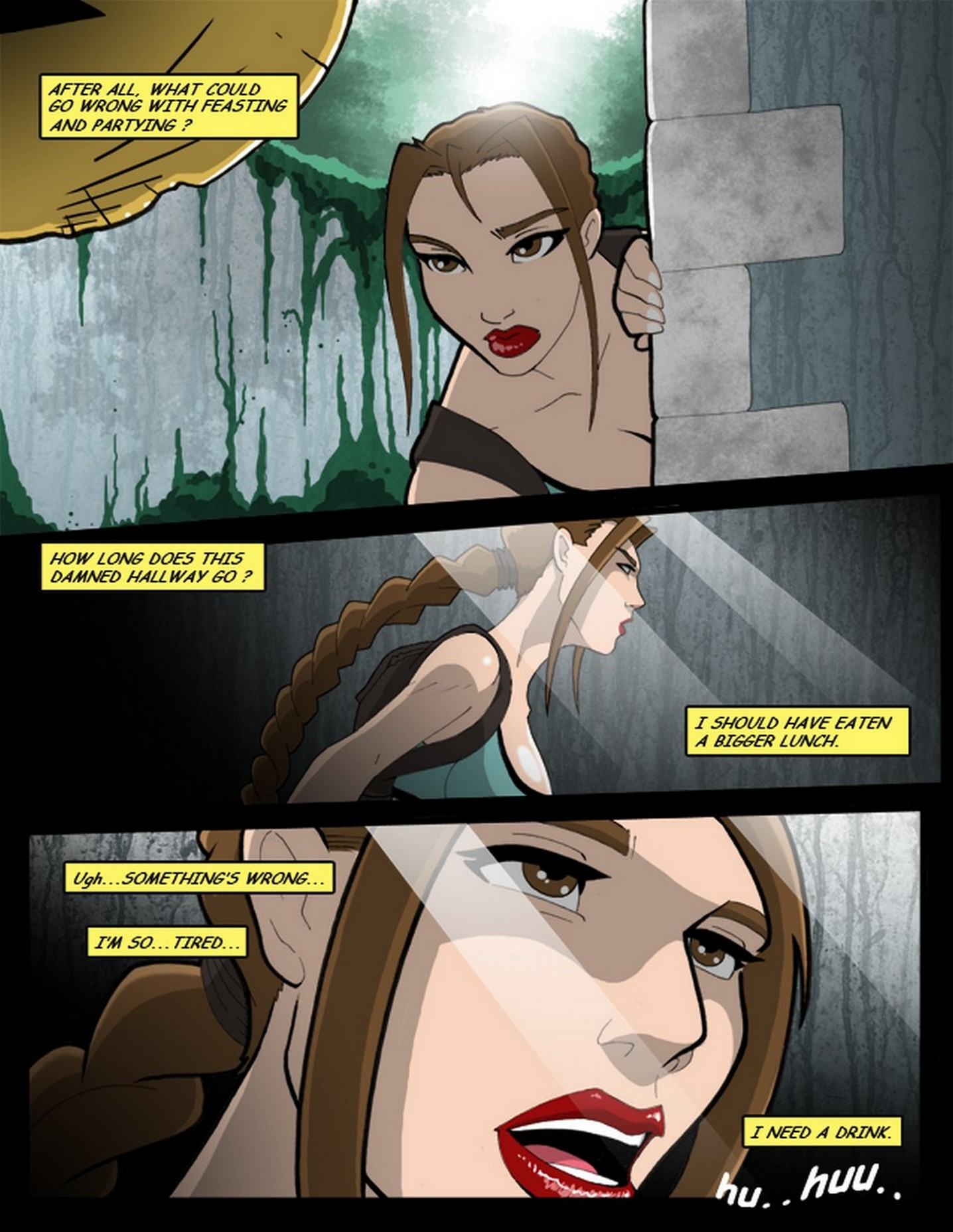 Tomb Raider and the Spirit of Bacchus