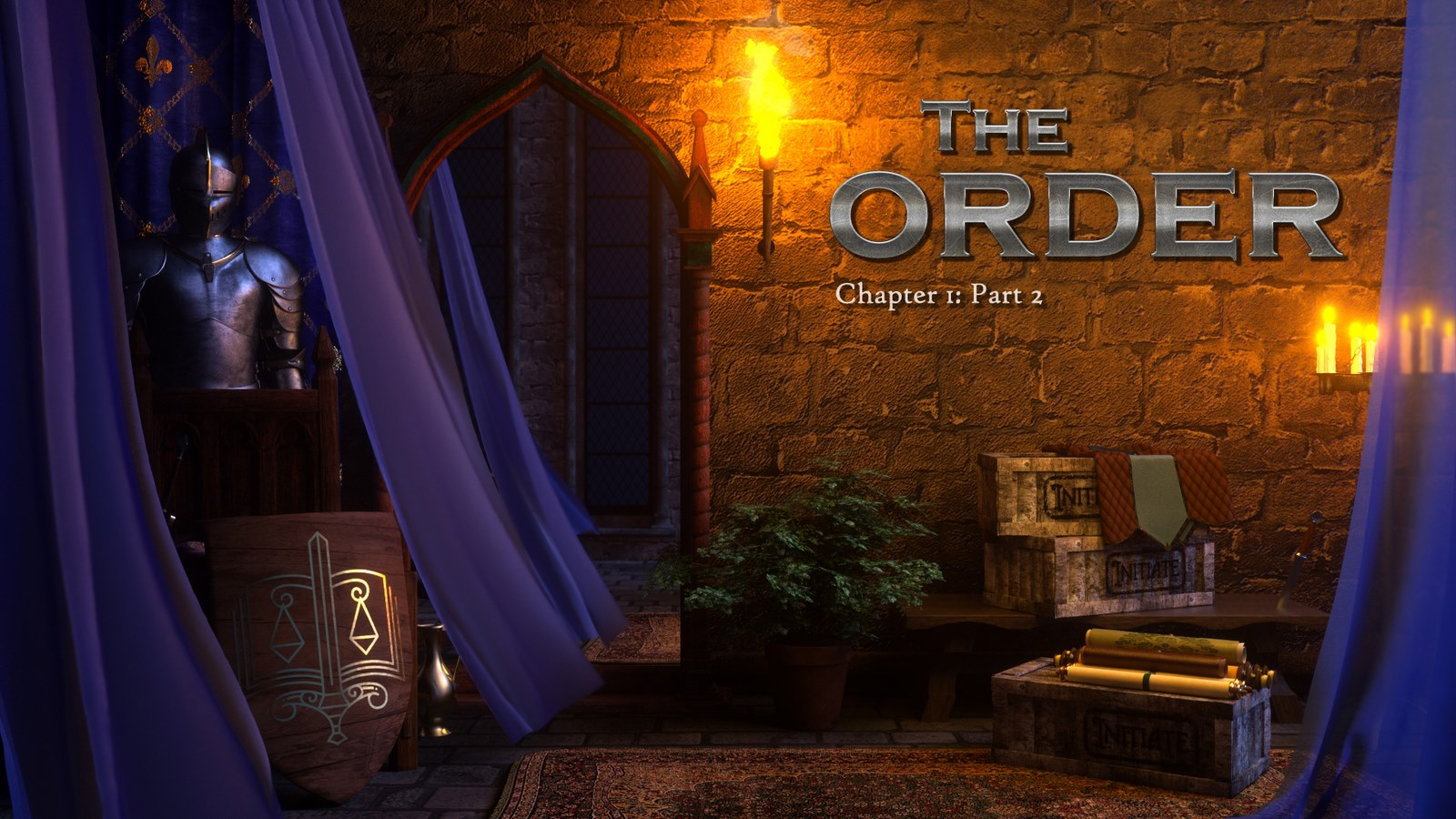 The Order Ch.1 - Part 2 (Naama)