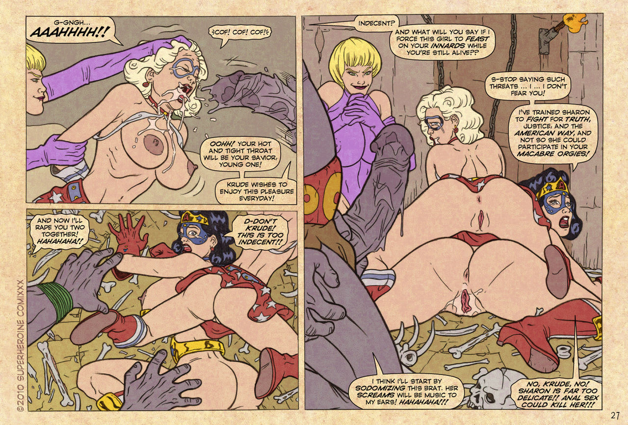 Slaves to Krude- Superheroine Central