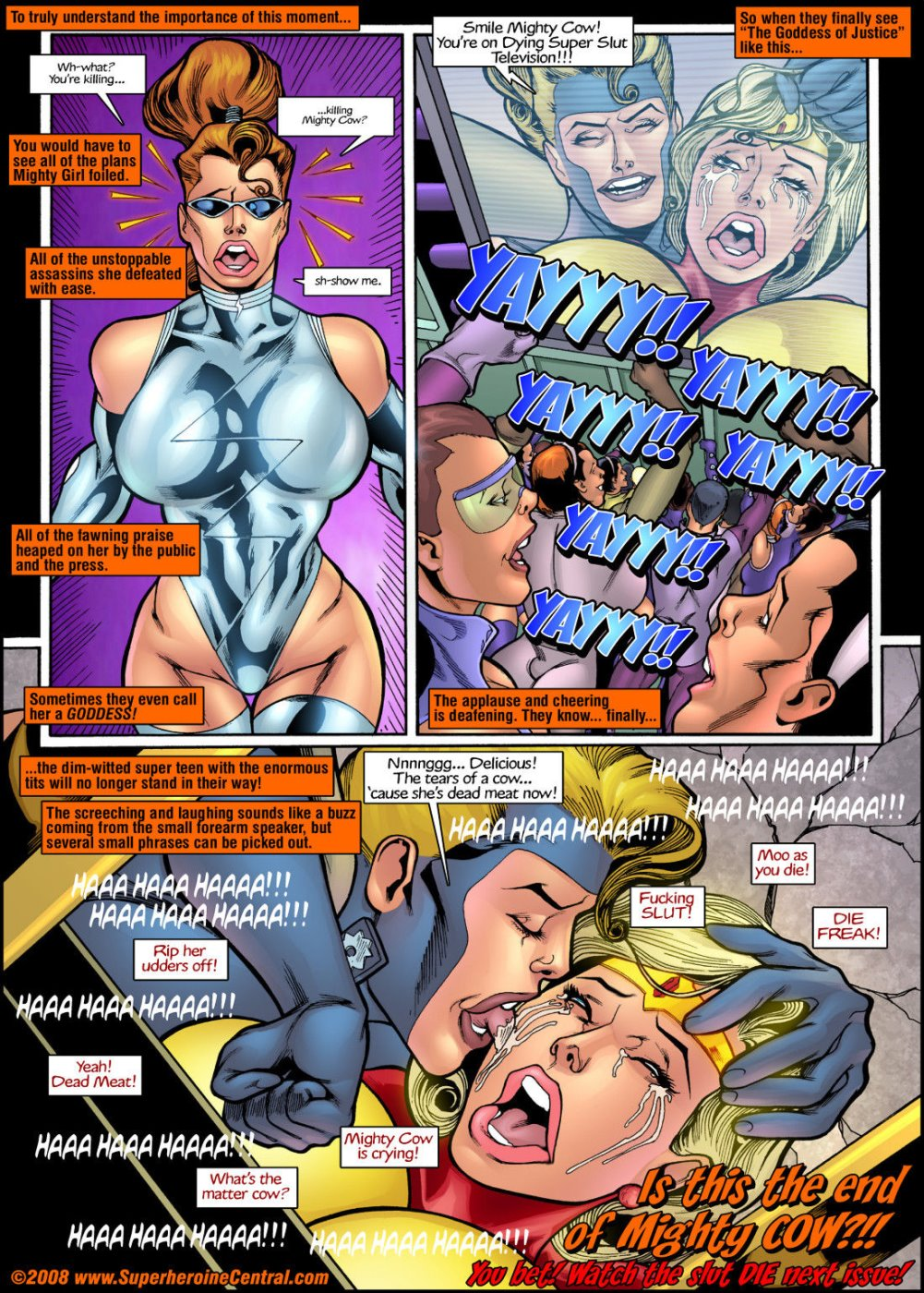 Mighty Girl Issue 1- Heart Pounding