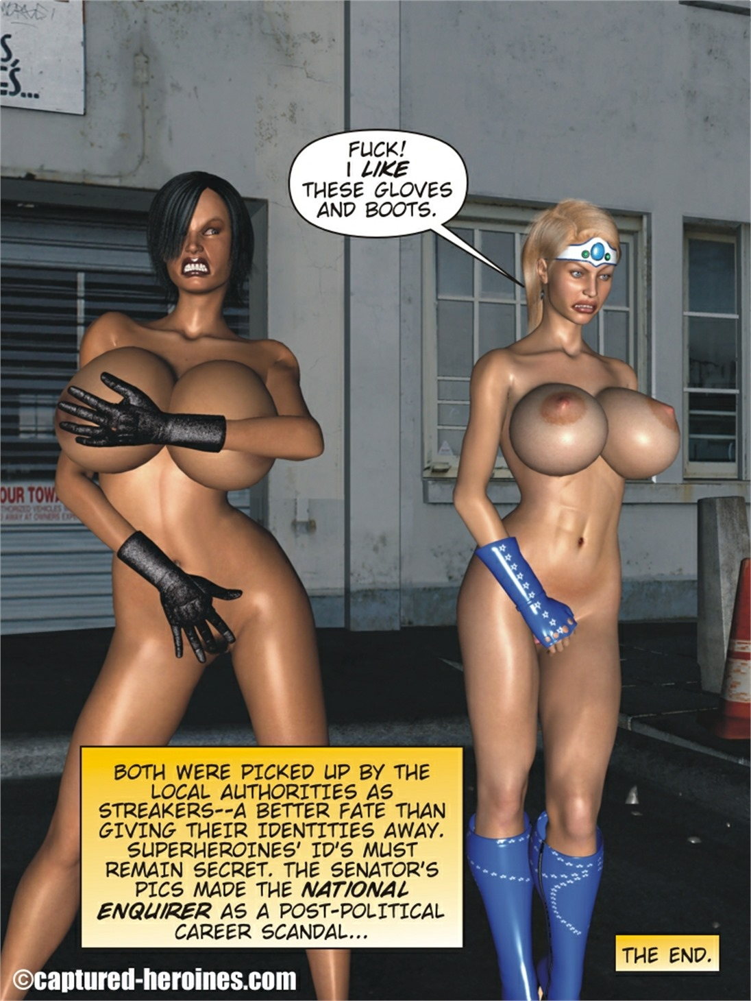 Back on the Streets 5 to 6 – Captured Heroine